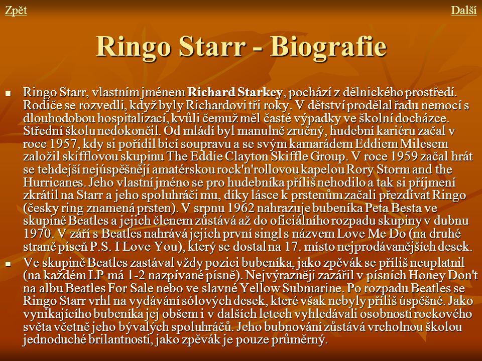 Ringo Starr - Biografie