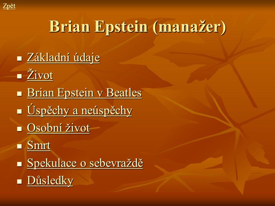 Brian Epstein (manažer)