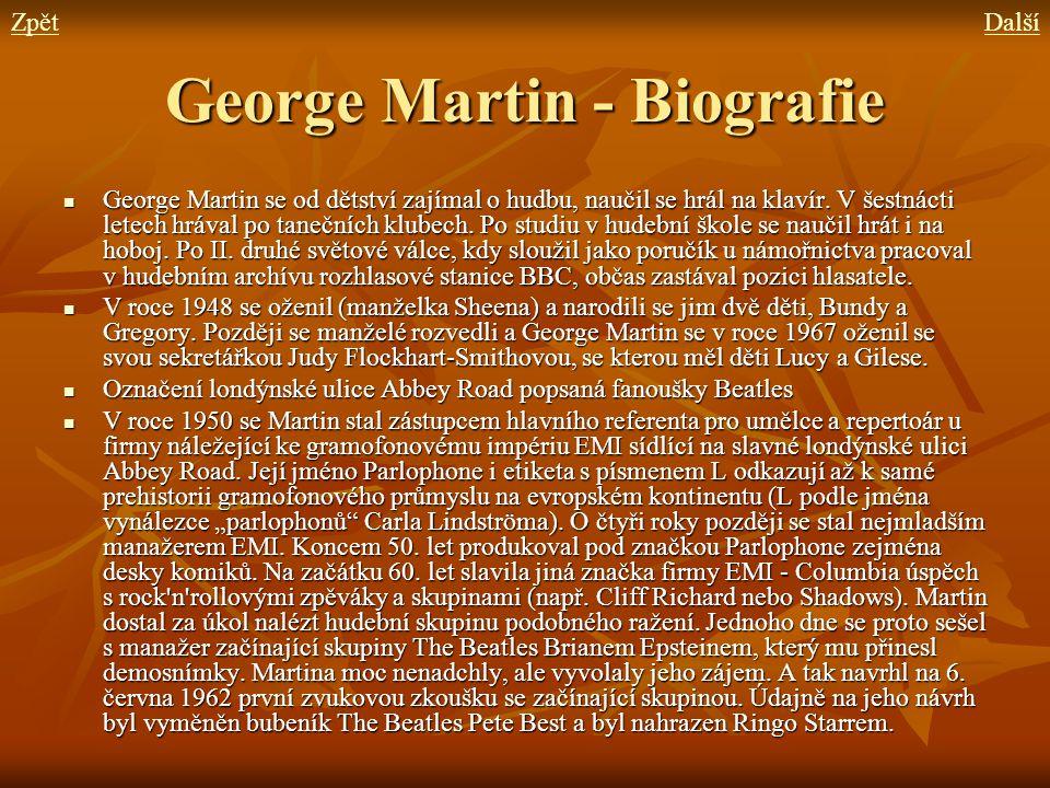 George Martin - Biografie