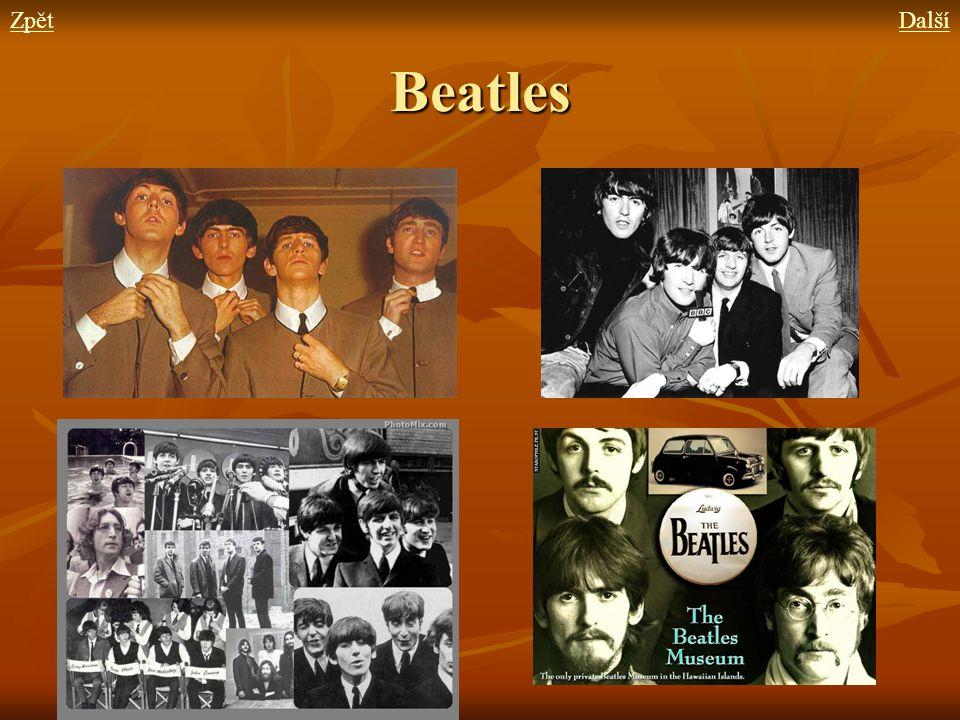 Zpět Další Beatles