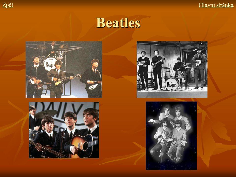 Zpět Hlavní stránka Beatles