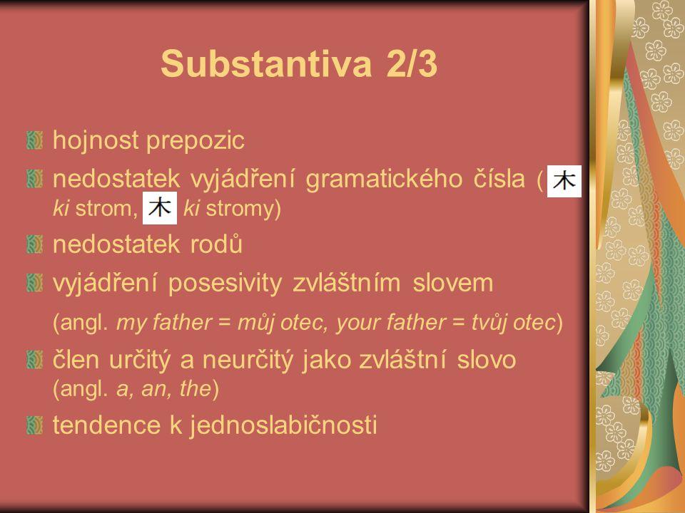 Substantiva 2/3 hojnost prepozic