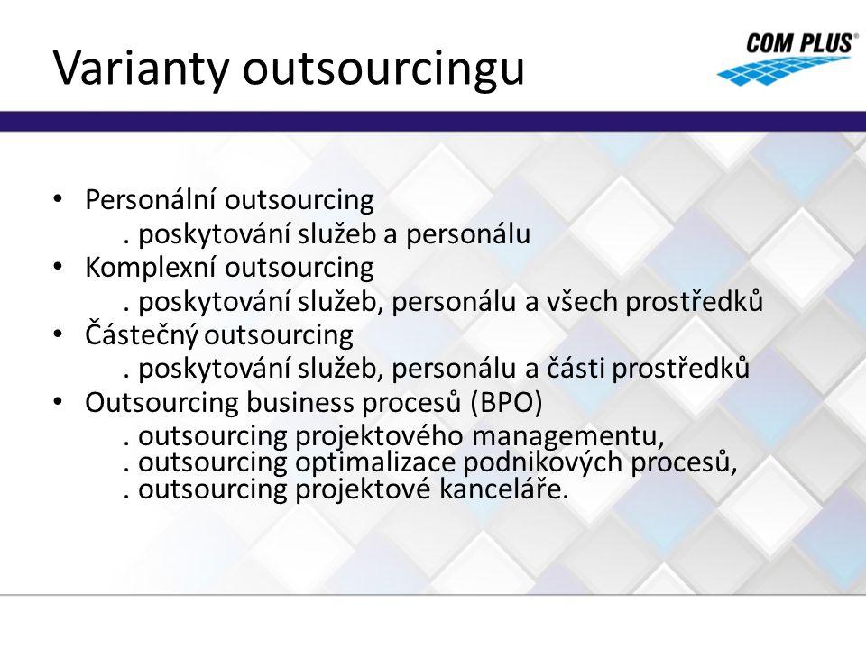 Varianty outsourcingu