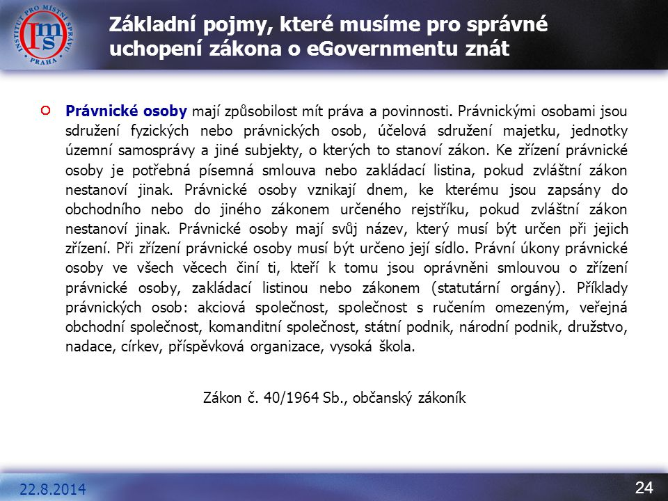 Zákon č. 40/1964 Sb., občanský zákoník