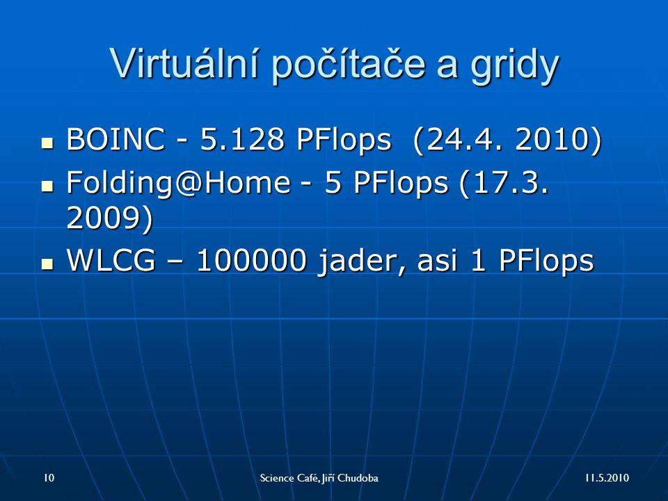Virtuální počítače a gridy