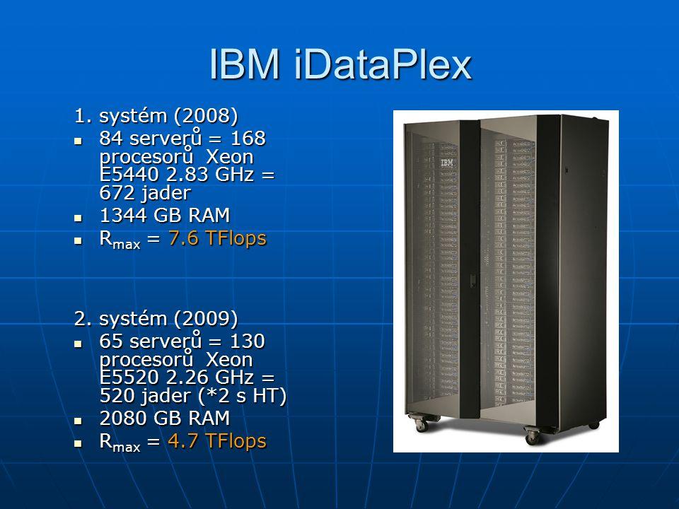 IBM iDataPlex 1. systém (2008)