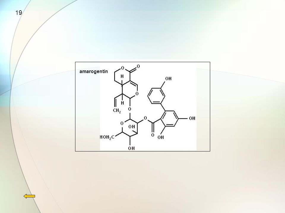 19 amarogentin