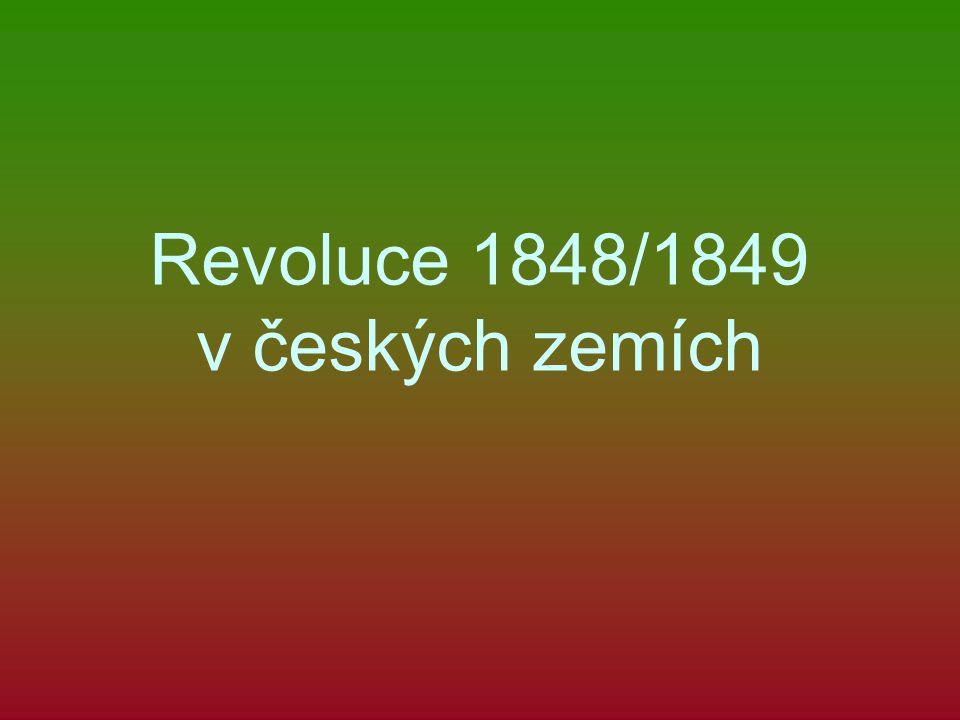 Revoluce 1848/1849 v českých zemích