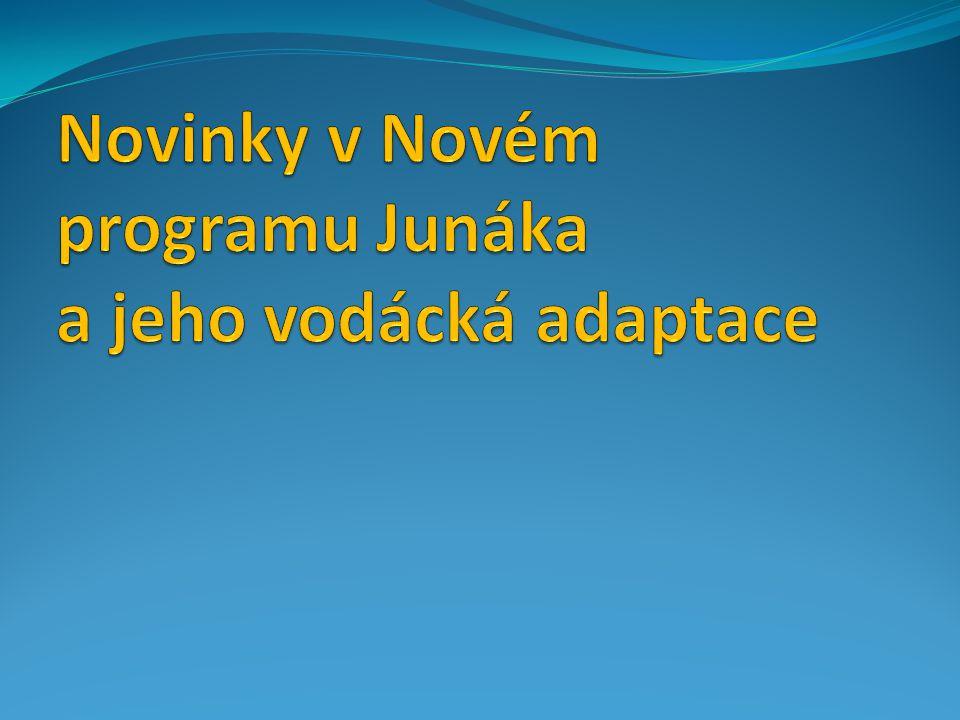 Novinky v Novém programu Junáka a jeho vodácká adaptace