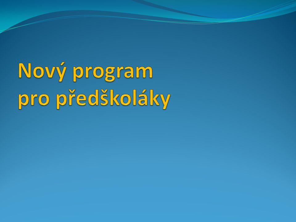 Nový program pro předškoláky
