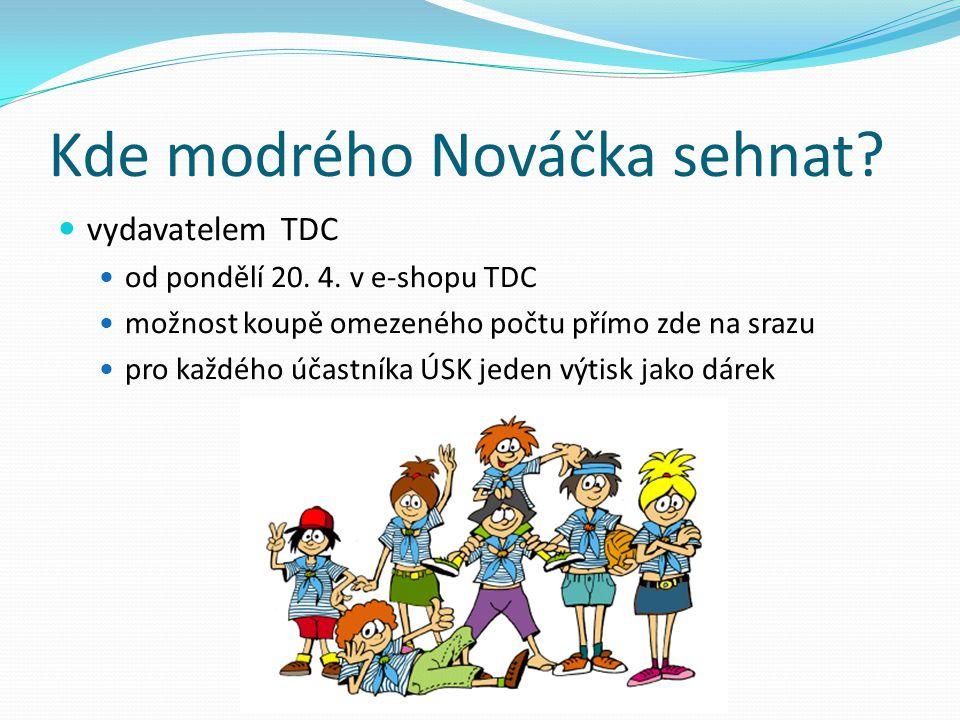 Kde modrého Nováčka sehnat