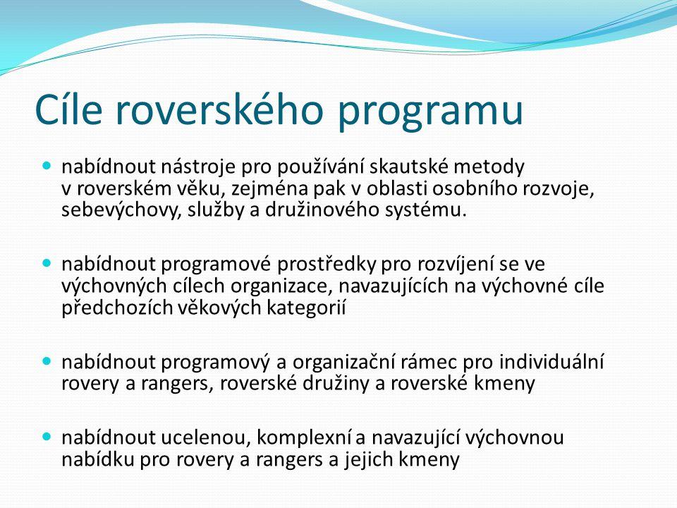 Cíle roverského programu