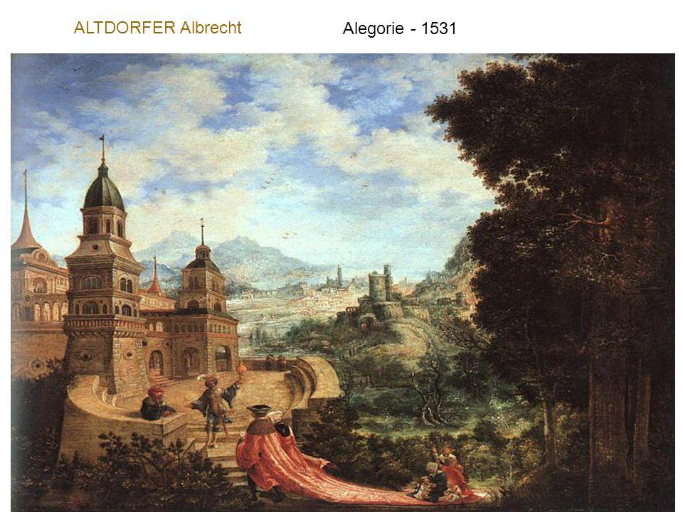 ALTDORFER Albrecht Alegorie - 1531