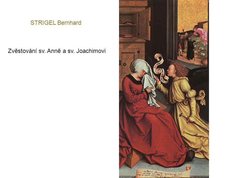STRIGEL Bernhard Zvěstování sv. Anně a sv. Joachimovi