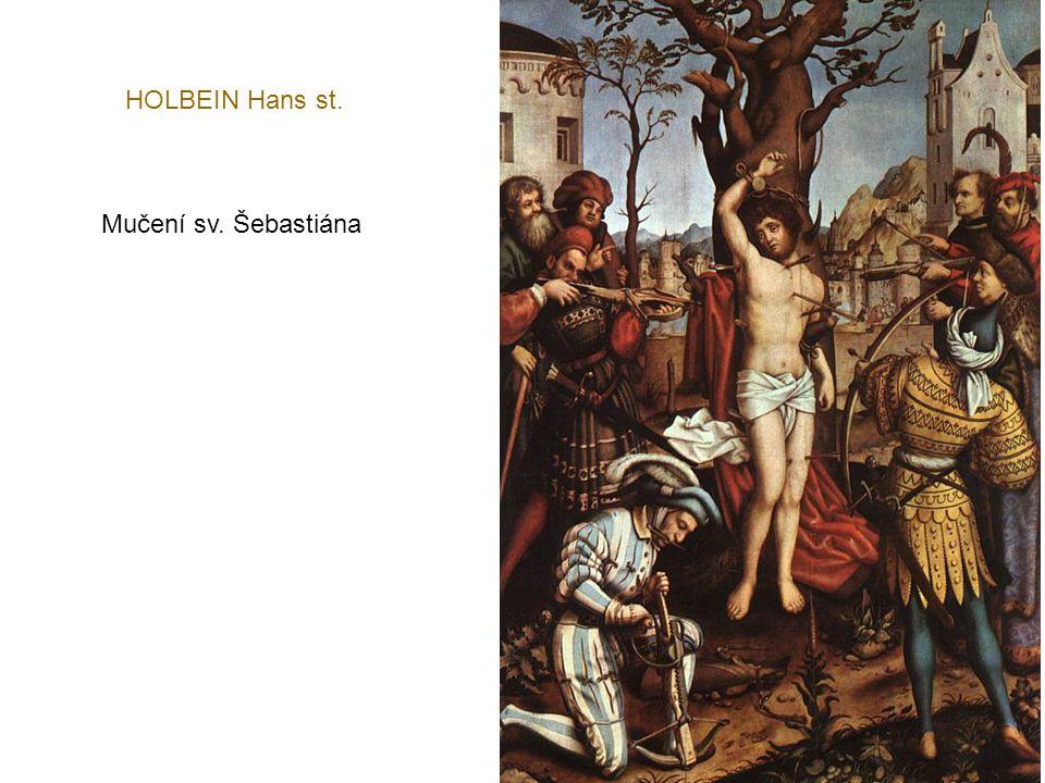HOLBEIN Hans st. Mučení sv. Šebastiána