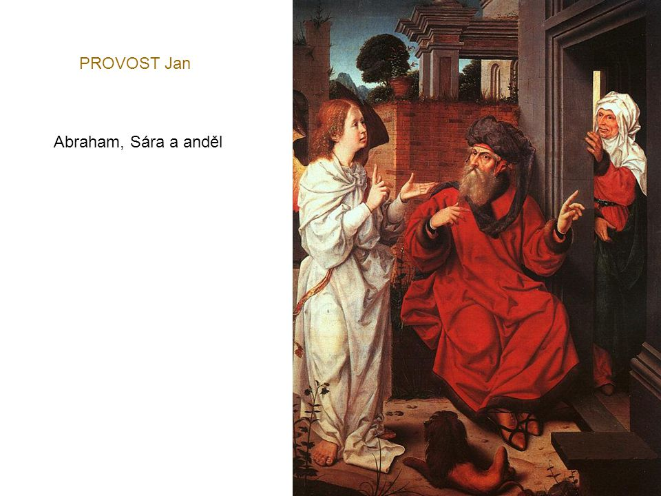 PROVOST Jan Abraham, Sára a anděl