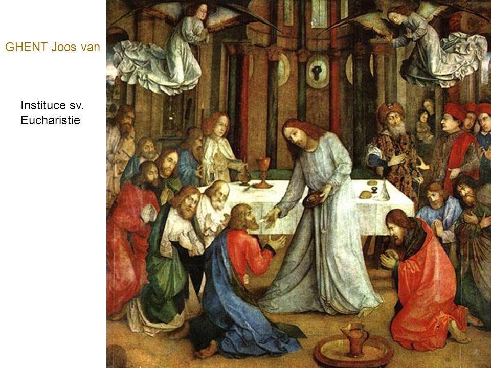 GHENT Joos van Instituce sv. Eucharistie