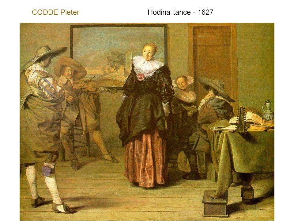 CODDE Pieter Hodina tance - 1627