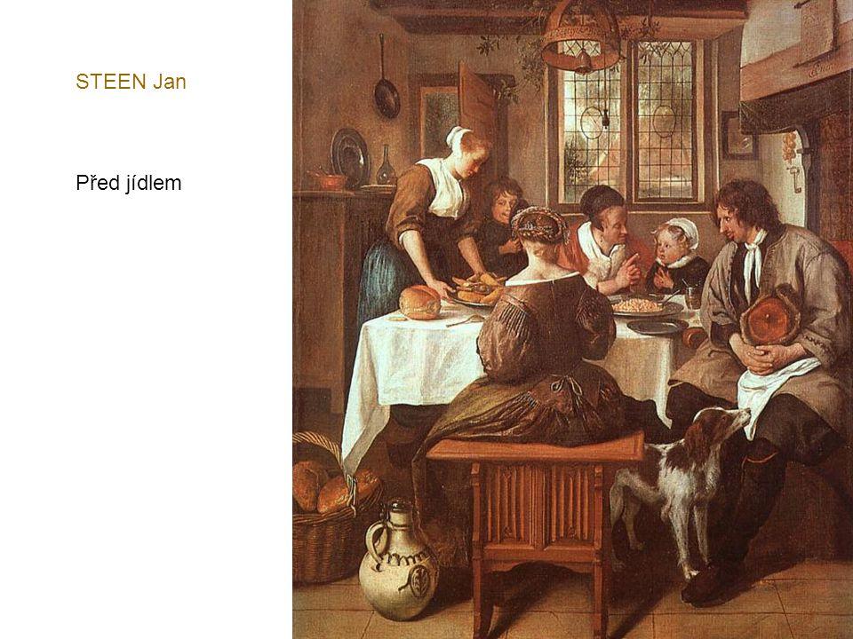 STEEN Jan Před jídlem