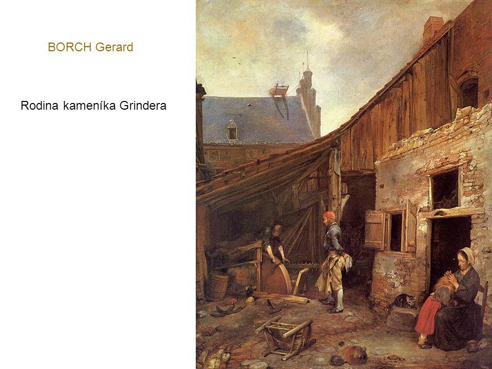 BORCH Gerard Rodina kameníka Grindera