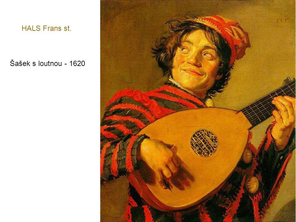 HALS Frans st. Šašek s loutnou - 1620