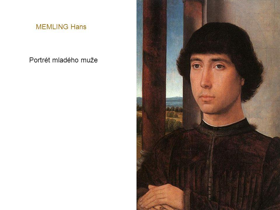 MEMLING Hans Portrét mladého muže