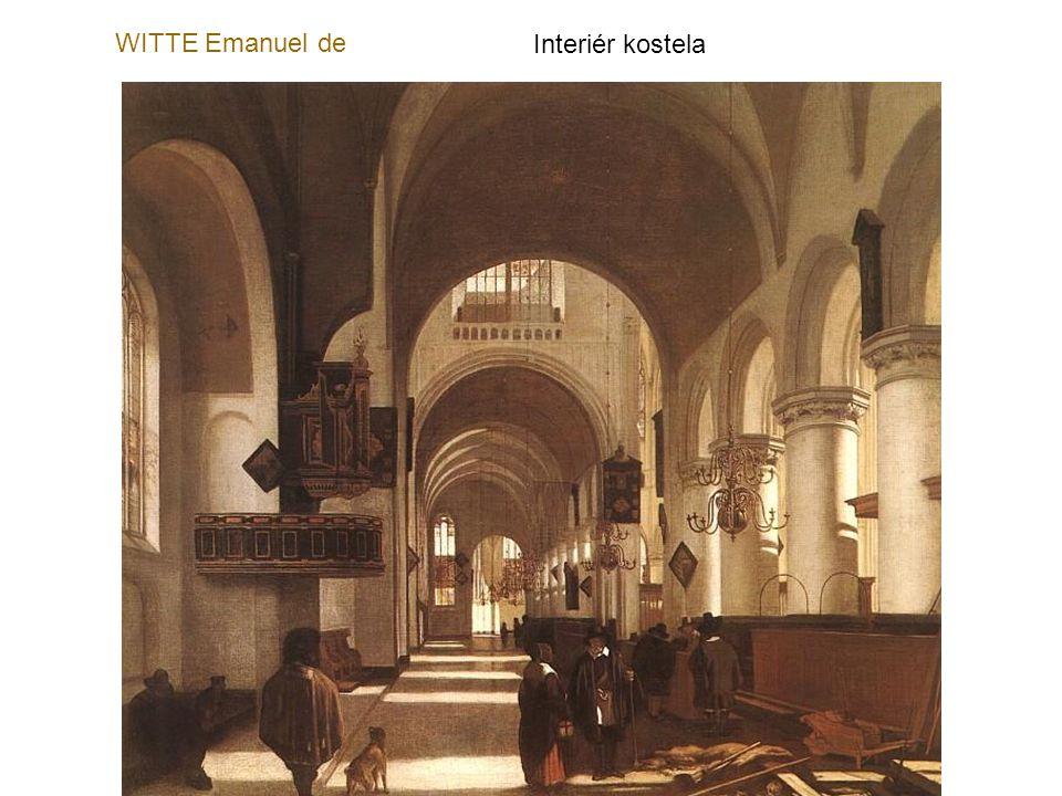 WITTE Emanuel de Interiér kostela