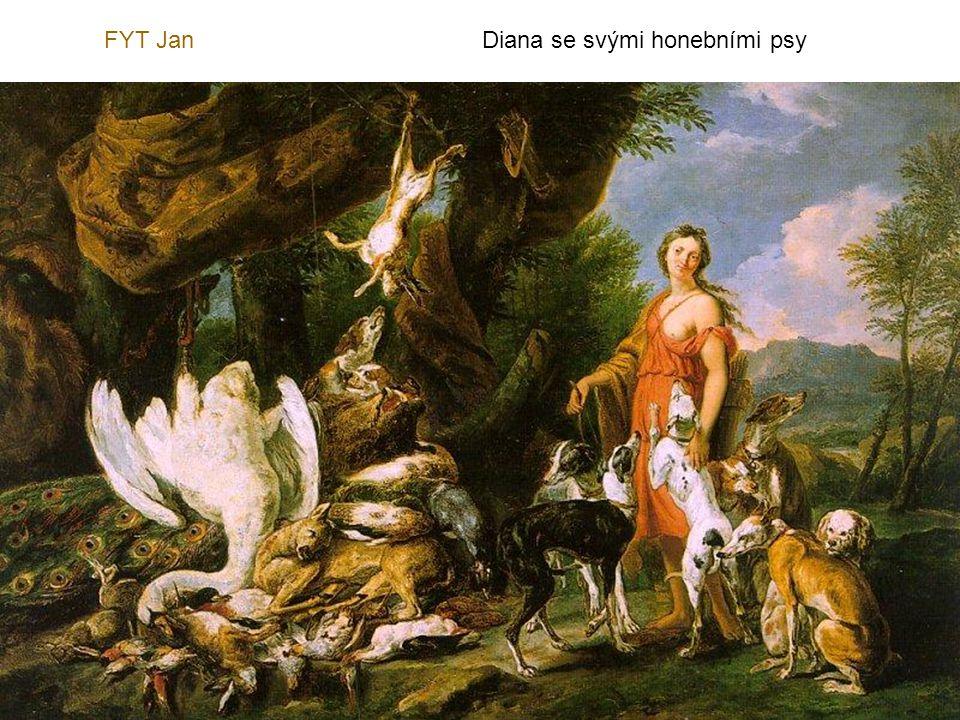 FYT Jan Diana se svými honebními psy