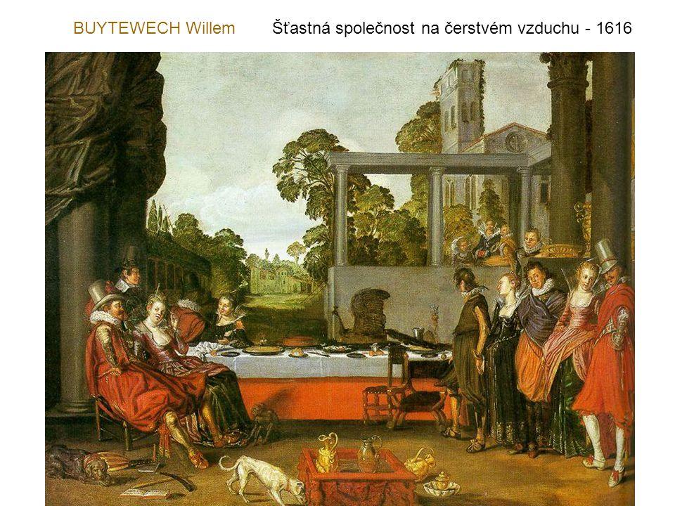 BUYTEWECH Willem Šťastná společnost na čerstvém vzduchu - 1616