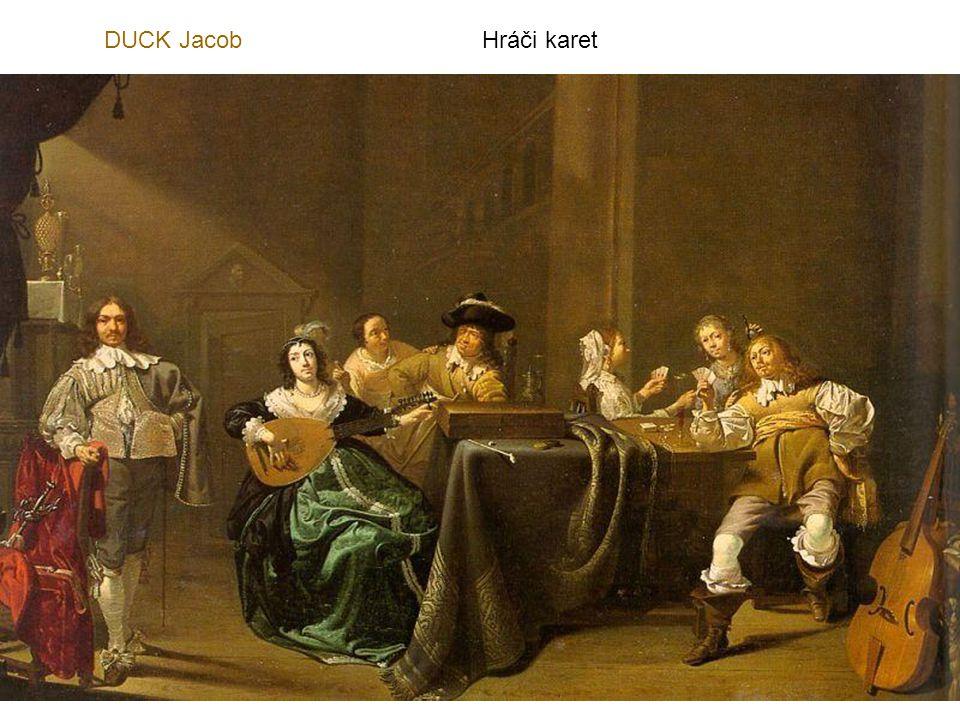 DUCK Jacob Hráči karet