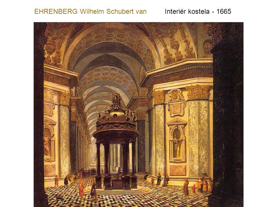 EHRENBERG Wilhelm Schubert van