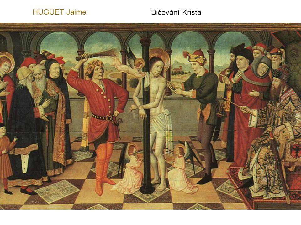 HUGUET Jaime Bičování Krista