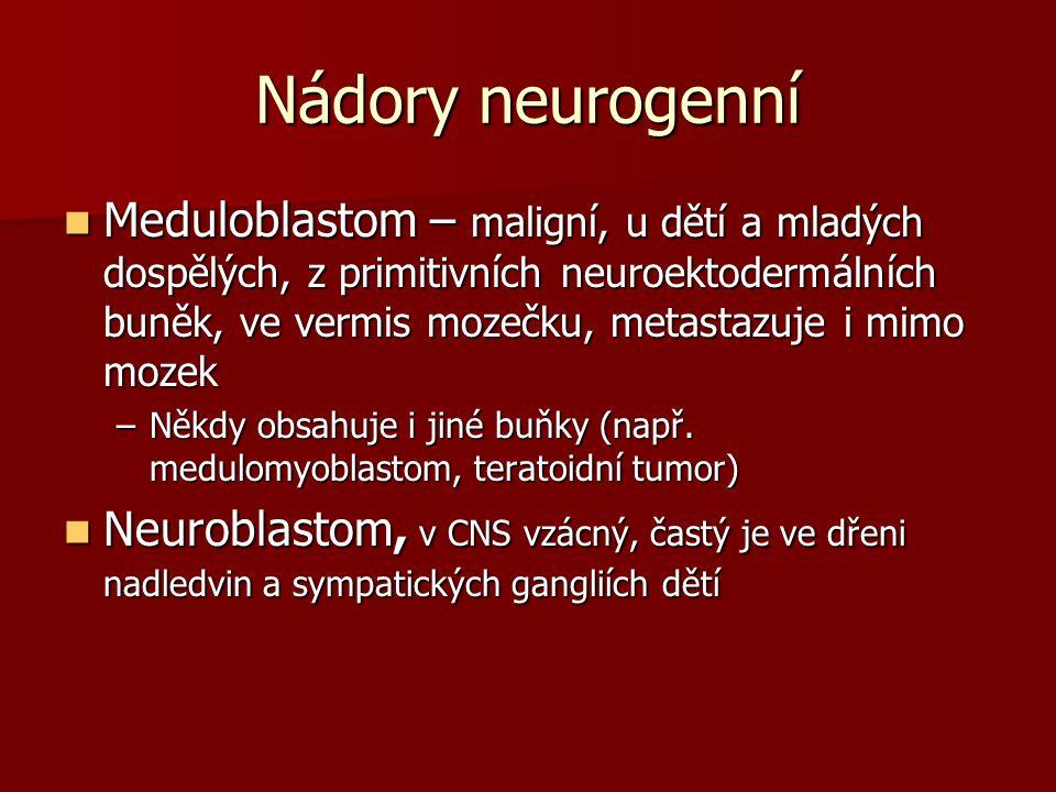 Nádory neurogenní