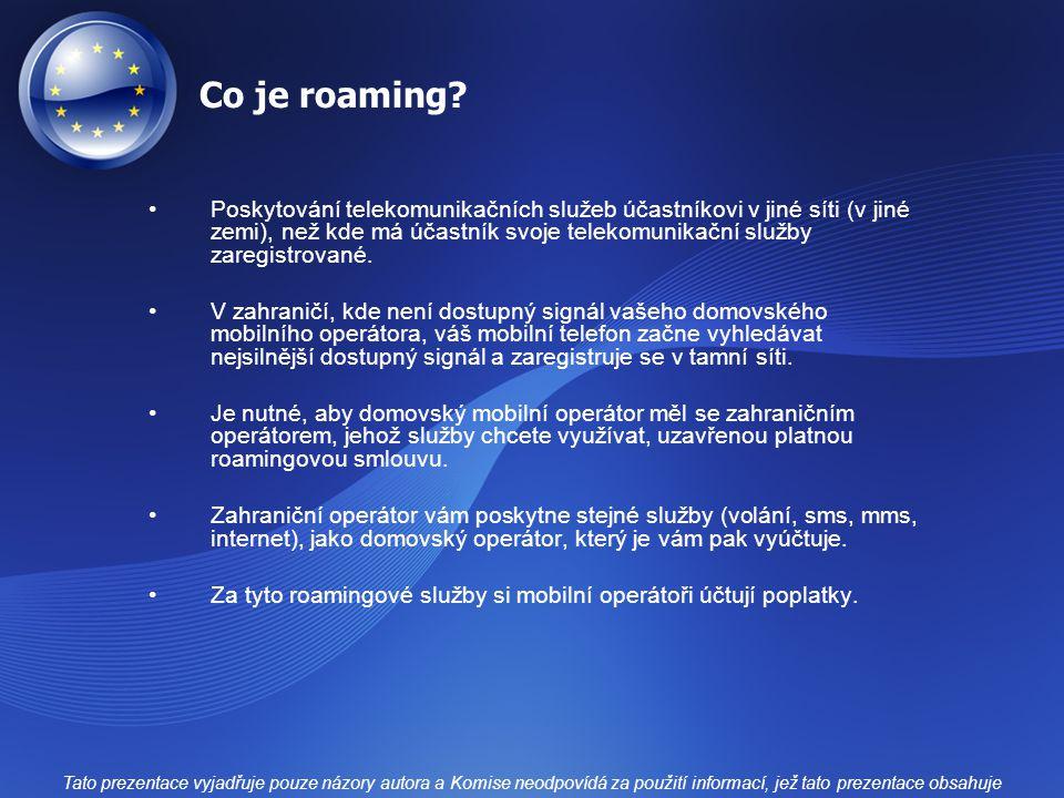 Co je roaming