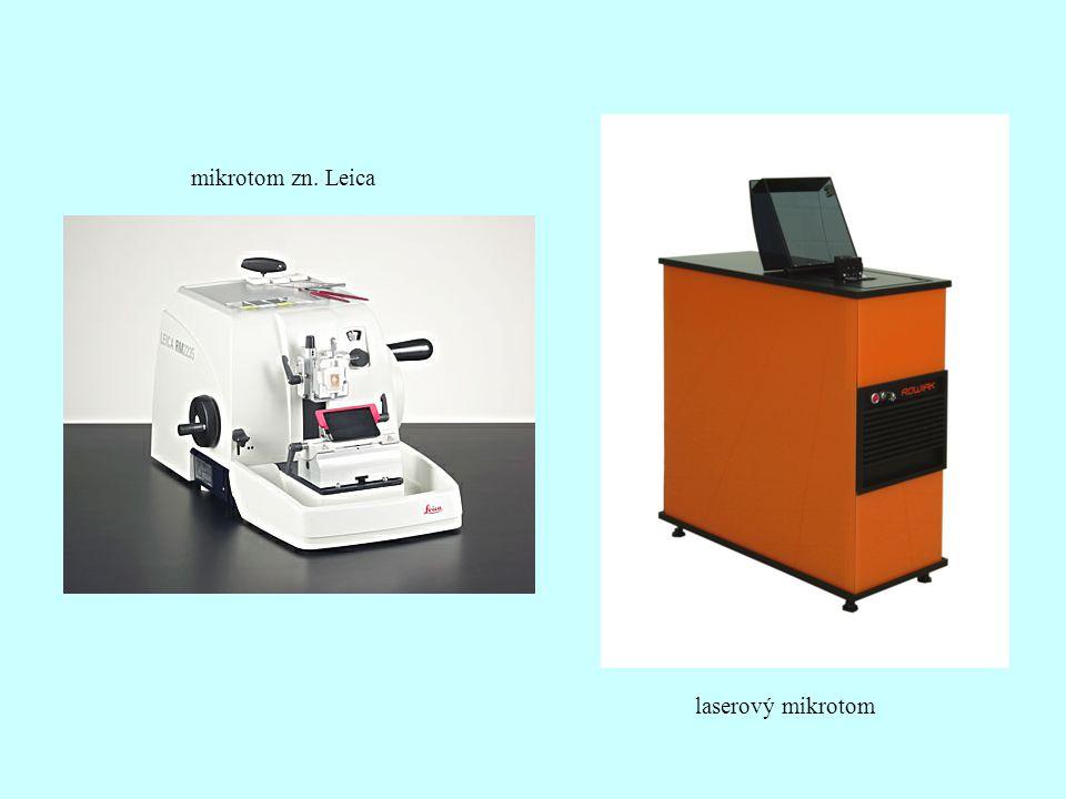 mikrotom zn. Leica laserový mikrotom