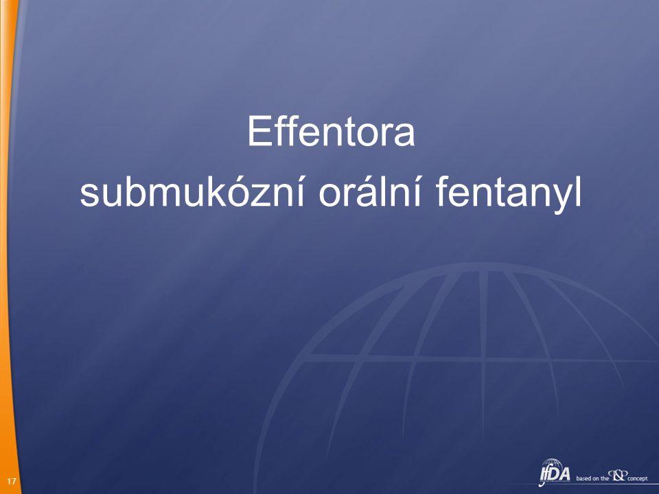 submukózní orální fentanyl
