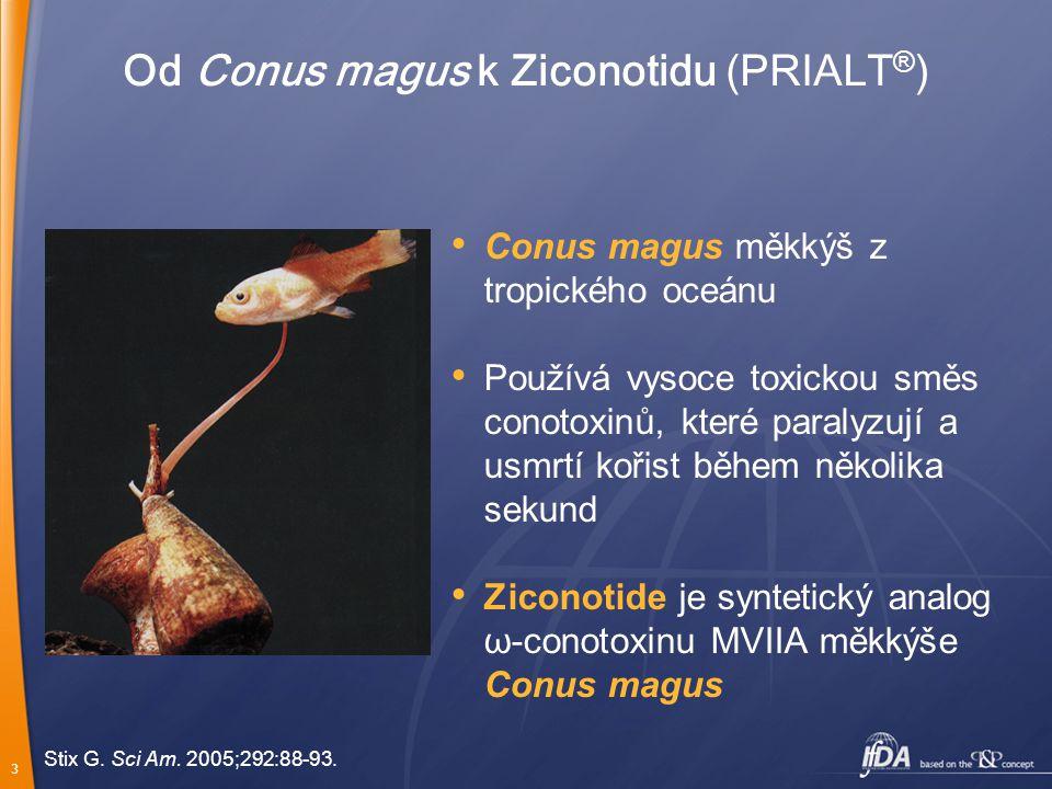 Od Conus magus k Ziconotidu (PRIALT®)