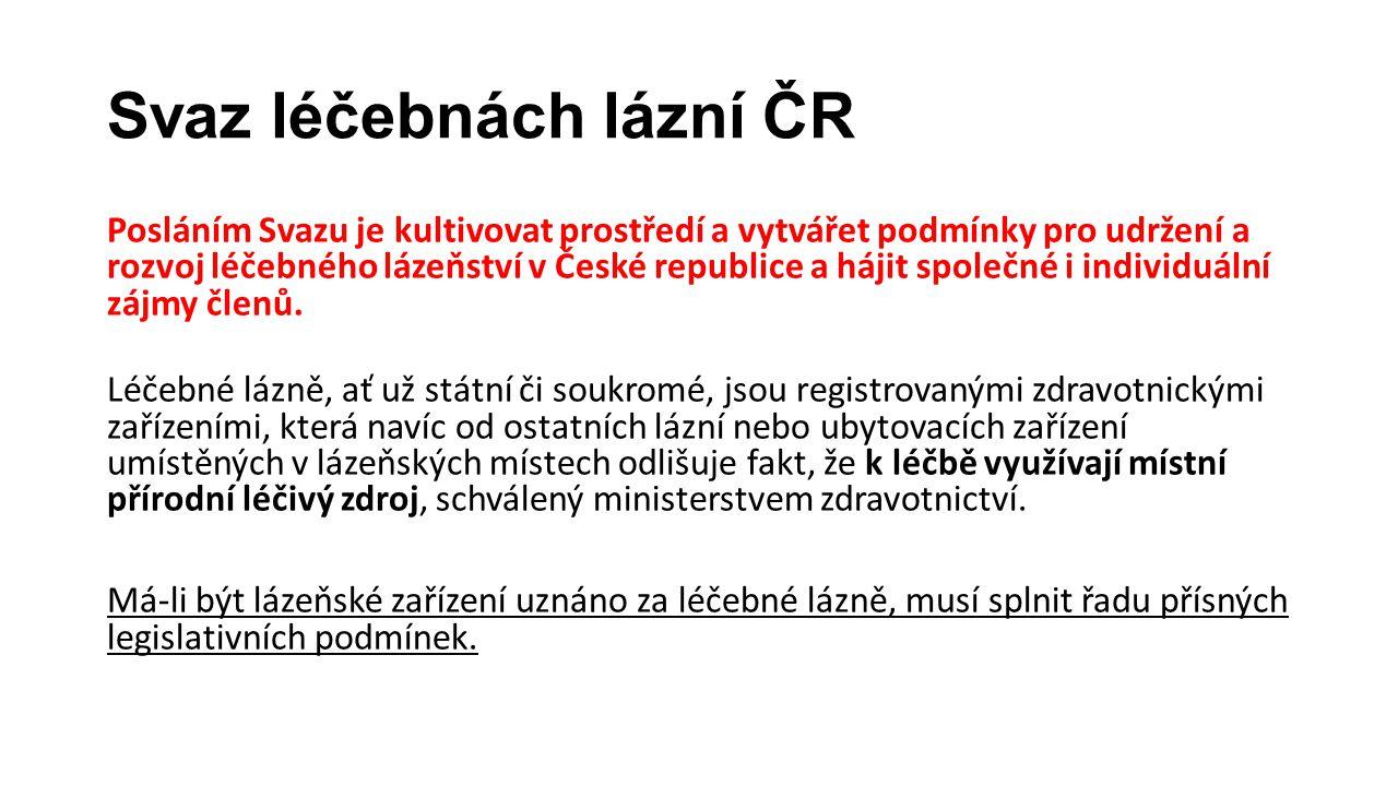 Svaz léčebnách lázní ČR