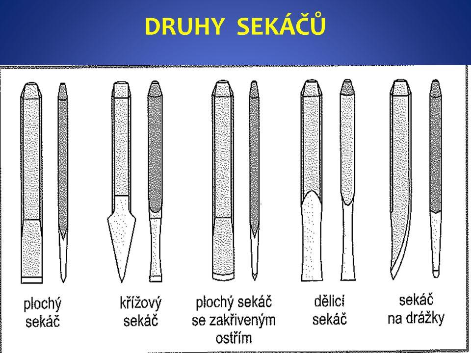 DRUHY SEKÁČŮ