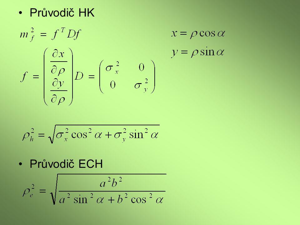 Průvodič HK Průvodič ECH