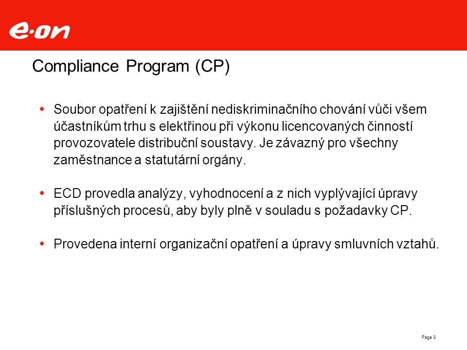 Compliance Program (CP)