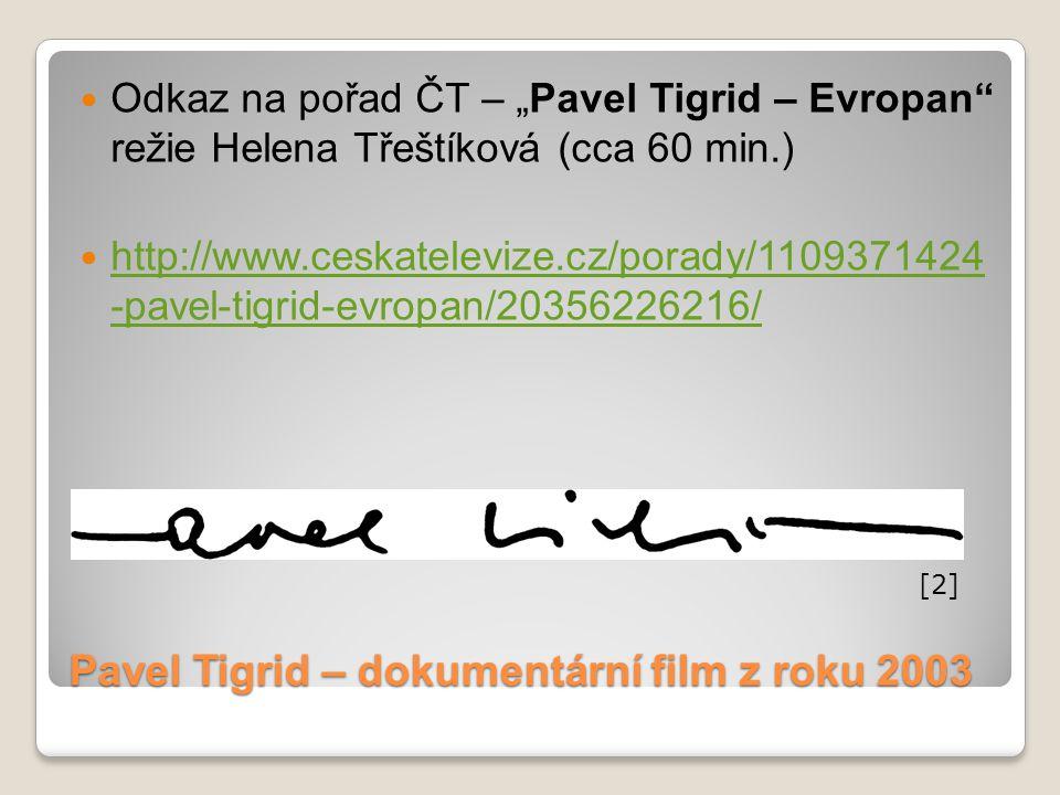 Pavel Tigrid – dokumentární film z roku 2003