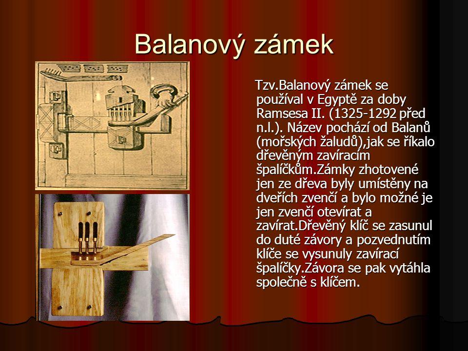 Balanový zámek
