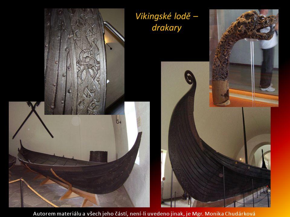 Vikingské lodě – drakary