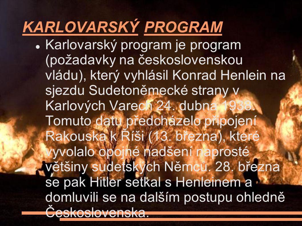KARLOVARSKÝ PROGRAM
