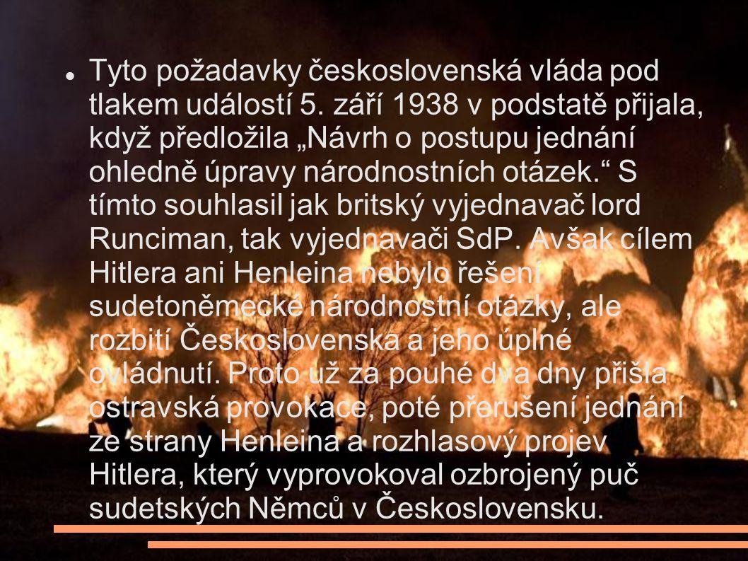Tyto požadavky československá vláda pod tlakem událostí 5