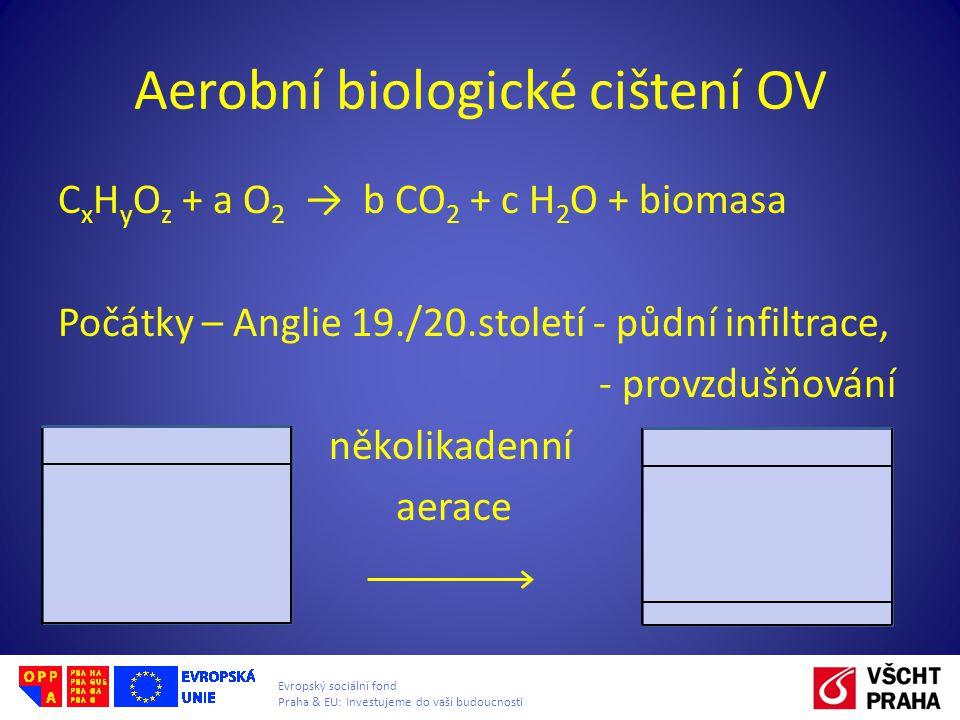 Aerobní biologické cištení OV