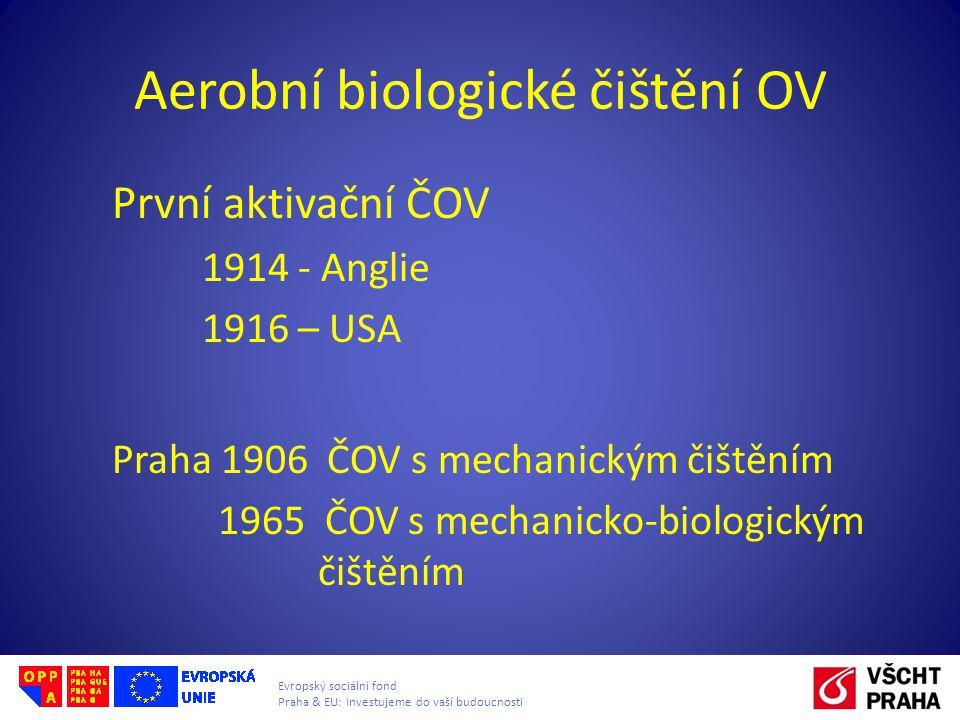 Aerobní biologické čištění OV