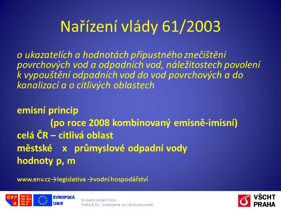 Nařízení vlády 61/2003