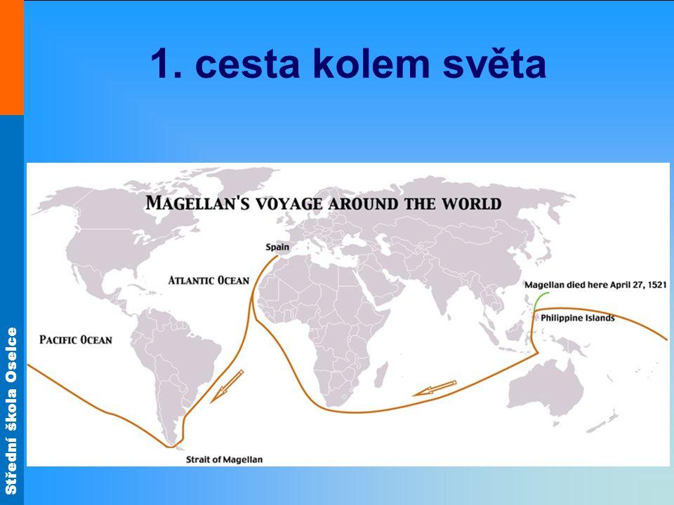1. cesta kolem světa